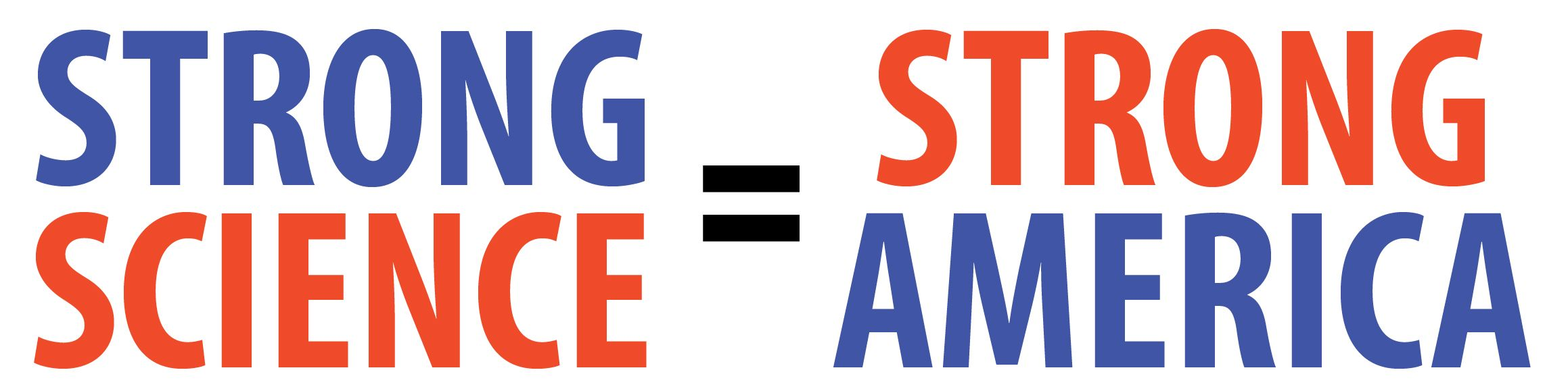Strong Science = Strong America bumper sticker